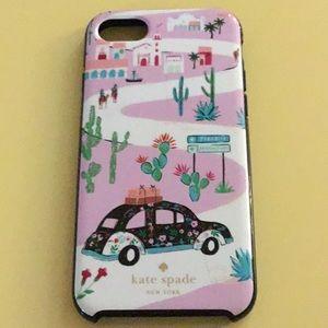 ♠️♠️Kate Spade iPhone 7 case.   Soooo cute and fun